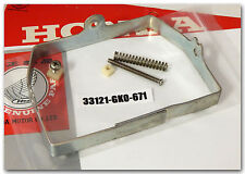 HONDA NB50 AERO NN50MD GYRO NQ50 SPREE SCOOTER HEADLIGHT RING 33121-GK0-671 USED