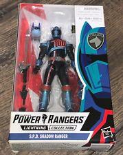 Power Rangers Lightning Collection 6 Inch Figure Series 1 - SPD Shadow Ranger
