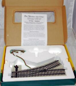 S Helper Service #00464 Manual Left Hand #3 Switch track S scale roadbed style