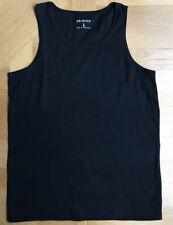 Primark L Black 100%  Cotton Mens Undergarment Vest