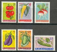 Romania 1963 MNH Mi 2131-2136 Sc 1540-1545 Freedom from Hunger.Vegetable **