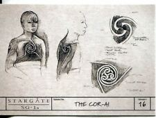 Stargate SG1 Season 9 Production Sketches Chase Card S18