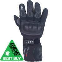 Richa Arctic Mens Waterproof & Breathable Motorbike Motorcycle Gloves - Black