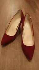calvin klein burgundy shoes women 7,5