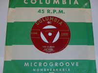 """SARAH VAUGHAN Time To Go / Street Of Dreams 7"""" 45 Columbia 4-39789 w/ OC Centre"""