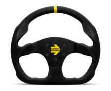 "MOMO Steering Wheel Mod 30 Black Suede 320mm + Free MOMO Suede Brush ""US Dealer"""
