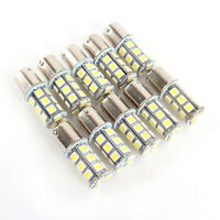 10Pcs 12V 1156 BA15S 5050 7503 1141 18SMD  LED Car RV Trailer Light Bulb 6500K