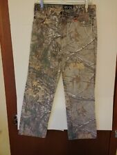 Real Tree Camo Hunting Boys Pants, Jeans, Size 16, # 863