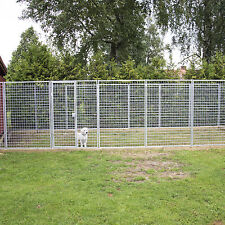 Dog pen door panel galvanised Kellfri 120 x180 cm £79+VAT Chickens Cats animal