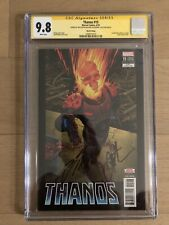 THANOS #15 SS CGC 9.8 Signed By DONNY CATES + JIM STARLIN 3RD PRINT VARIANT 🔑