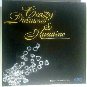 Crazy Diamond & Karatino  Gesellschaftsspiel Brettspiel  2in1
