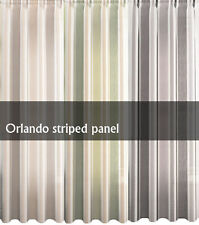 Polyester Unbranded Striped Curtains