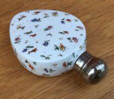 Antique Continental Porcelain Scent Bottle With Gilt and Polychrome Decoration
