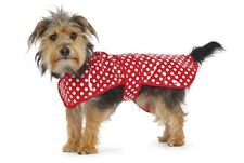 Ancol Red Polka Dot Dog Rain coat LARGE TO EX LARGE