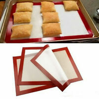 Non-stick Silicone Baking Mats Heat Resistant Sheet Liner Bakeware Cookie Tray
