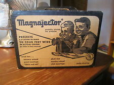 MAGNEJECTOR Magnifier Projector MJ-100 Rainbow Crafts USA 1962 Vintage Toy/Craft