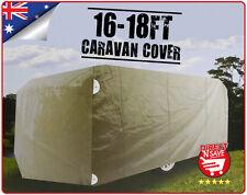 16 - 18 FT Caravan Cover Moisture Proof Polypropylene Easy Access Zipper Soft