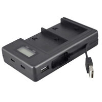 USB Camera Battery Charger For Sony NP-F970 Camera Battery with LCD Display