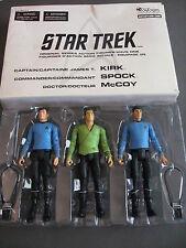 Star Trek Art Asylum Original Series Action Figures 2003 New Kirk Spock McCoy