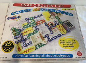ELENCO | SNAP CIRCUITS PRO | SC-500 | COMPLETE! | STEM SCIENCE EDUCATIONAL TOY
