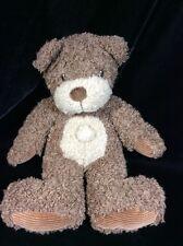 "First & Main Skidoo Brown Teddy Bear Plush Soft Toy 12"" Stuffed Animal"