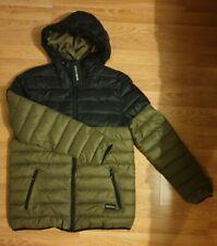 "KHAKI & BLACK mens NANNY STATE NANNYSTATE jacket STEINAR large  L 40"" 42"" BNWT"