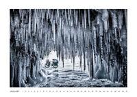 Reiserad Kalender 2021 Wandkalender DIN A3 Fotos von Baikalsee USA Schweden