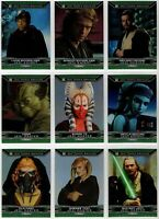 Topps Star Wars Chrome Perspectives Jedi vs Sith Complete 250 Card Master Set