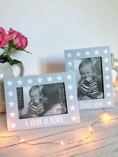 Beautiful Nordic Star Photo Frames Set Of 2