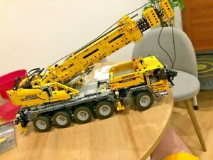 APP RC Technic Series Car Motor Power Mobile Crane Mk II Building Blocks Set Kit