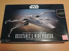 BANDAI 1/72  STAR WARS RESISTANCE X-WING FIGHTER `THE FORCE AWAKENS'   (0202289)