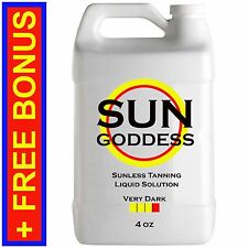 SUN GODDESS - VERY DARK - 4 oz - Spray Tan Solution Sunless Tanning Self Tanner