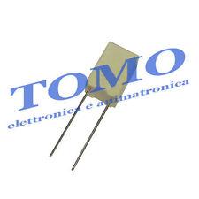 Condensatore in poliestere 2,2uF 50V passo 5mm 5% THT MKT