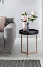 Table d'appoint Table Mules 40x40 cm courbé THONET noir/cuivre