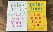 Paige Toon Five Years From Now & The Minute I Saw You Book Bundle