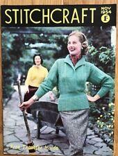 Vintage Stitchcraft Magazine. November 1954