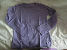 Tee-shirt Uni Violet,ML,T8ans,marque In Extenso,NEUF!