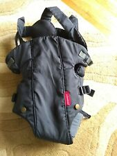 Infantino Baby Carrier Black For Baby 8-25 Pounds