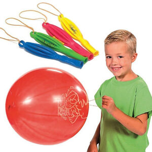 5 x LARGE PUNCH BALLOONS TOYS BOYS GIRLS PARTY BAG FILLERS GARDEN GAME ACTIVITY