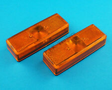 Free P & P * 2 X Ámbar Luz de Posición Luces Radex Modelo 905-Remolque & Horsebox