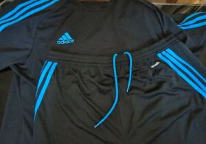 Mens adidas climalite t shirt & shorts large Excellent condition