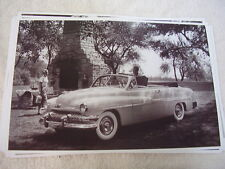 1951   MERCURY   CONVERTIBLE   11 X 17  PHOTO  PICTURE