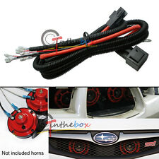 12V Horn Wiring Harness Relay Kit Fit Car Truck Grille Mount Blast Tone Horns (Fits: Cadillac)