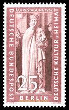 EBS West Berlin 1957 Uta, Naumburg Cathedral - Michel 173 MNH**