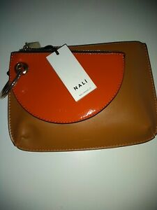 Nali Ladies Double Clutch Bag  Leather
