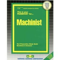 NEW Machinist Test Practice Passbook Upcoming Civil Service NYC (Exam 0106)