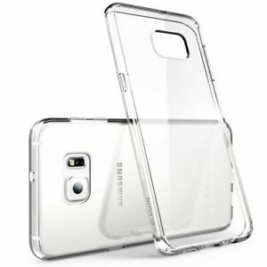 Ultra Clear Rubber Silicone Case TPU Cover For Samsung Galaxy s6 EDGE+ PLUS