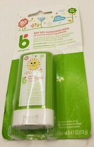 Babyganics Pure Mineral Sunscreen Stick - SPF 50+ - 0.47 Oz, EXP 2021/04