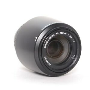 Olympus Zuiko Digital 40-150mm f/3.5-4.5 Lens (not Micro 4/3) - Tested & Clean
