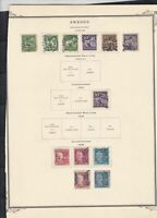 sweden 1920-25 stamps page ref 18088